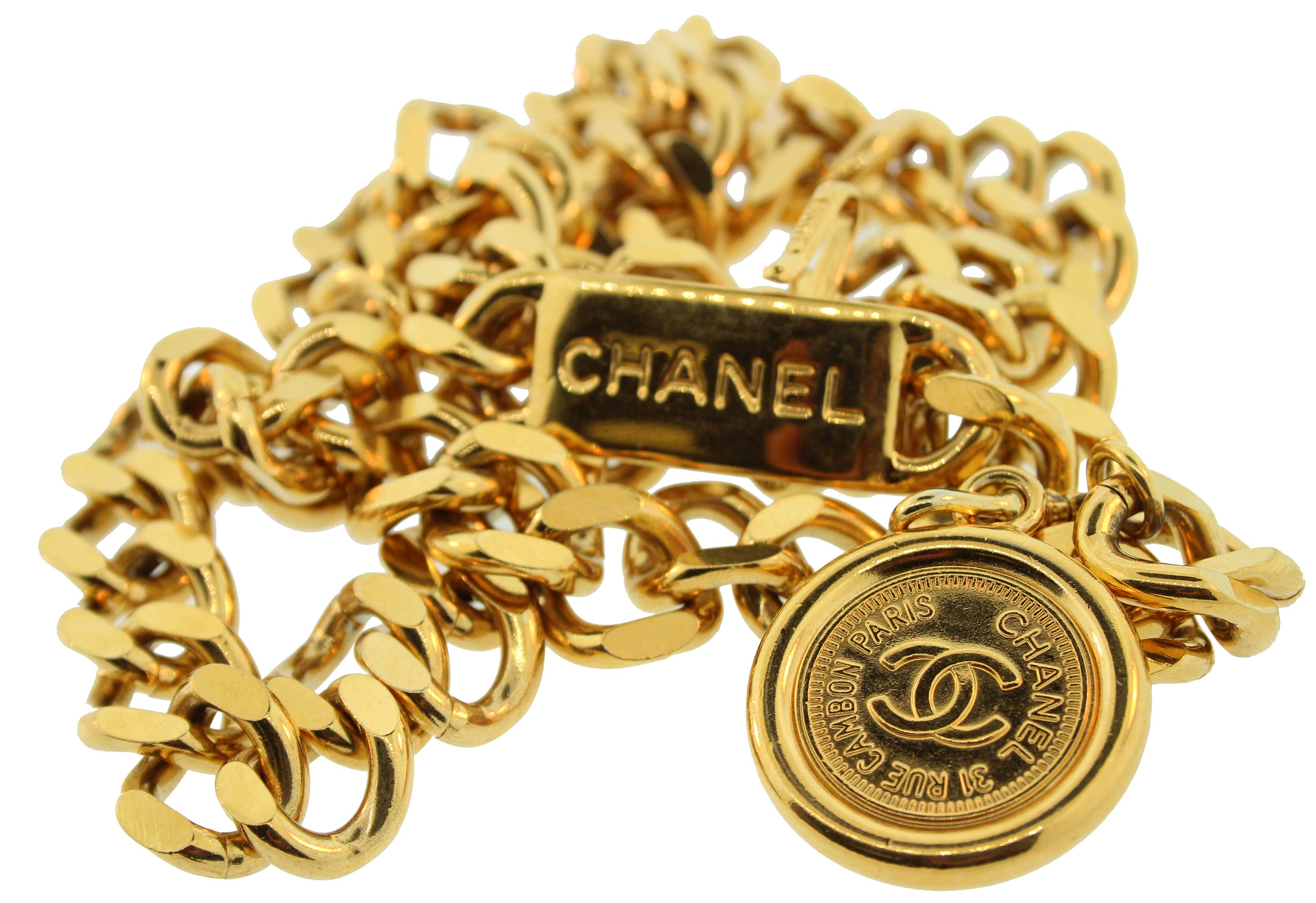 multi chanel rstkd chains vintage products chain pendent